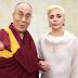 Encuentro de Lady Gaga y el Dalai Lama fue lo más comentado en Facebook