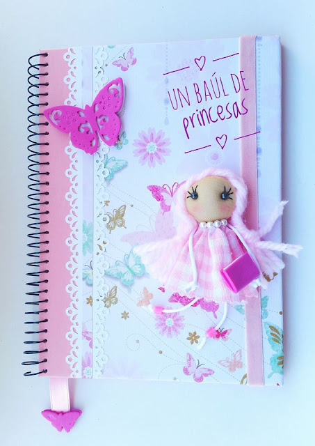 Agenda escolar en rosa