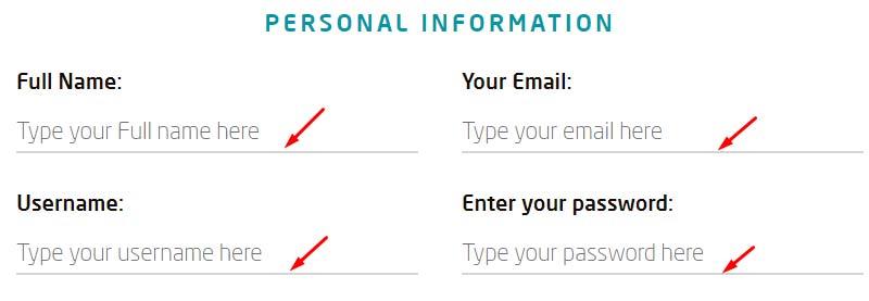 Регистрация в Target Profit 2