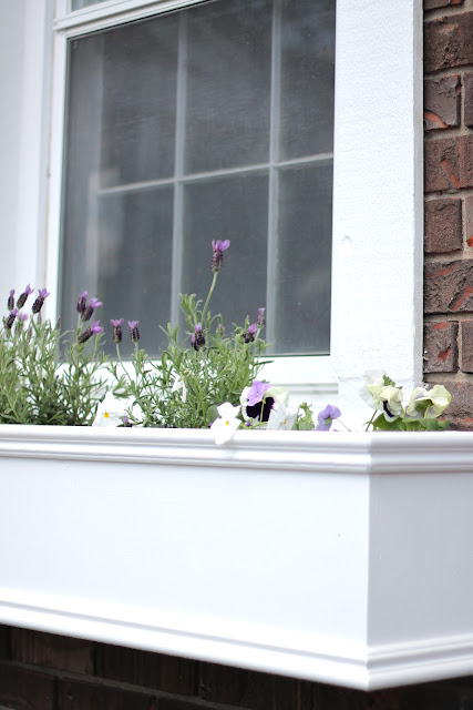 add charm to your home with DIY wood window boxes