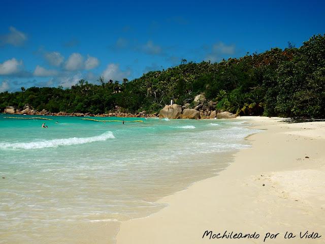 praslin seychelles playas