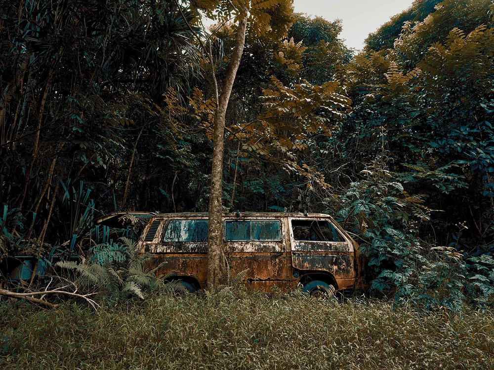 Abandoned Cars in Hawaii