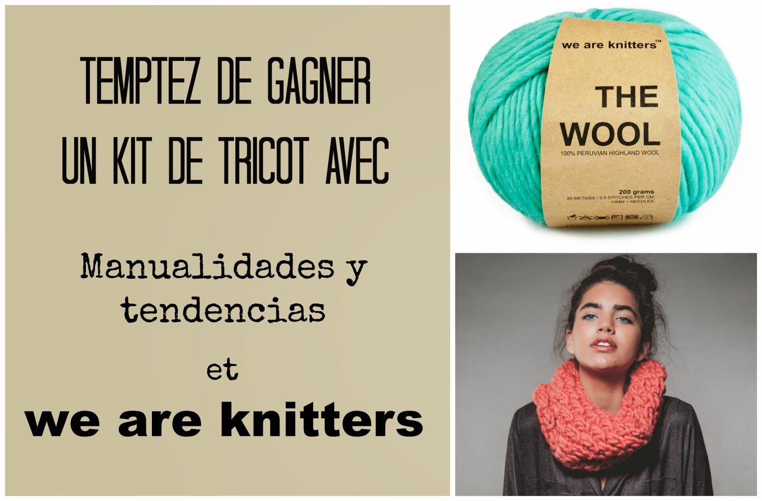 concours kit de tricot de we are knitters