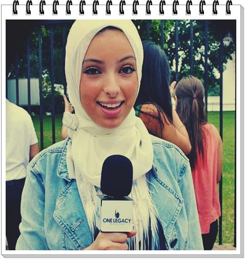 Biografia  NOOR TAGOURI jurnalista de origine musulmana