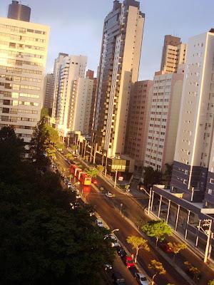 DE VIAJEROS POR CURITIBA - BRASIL 1