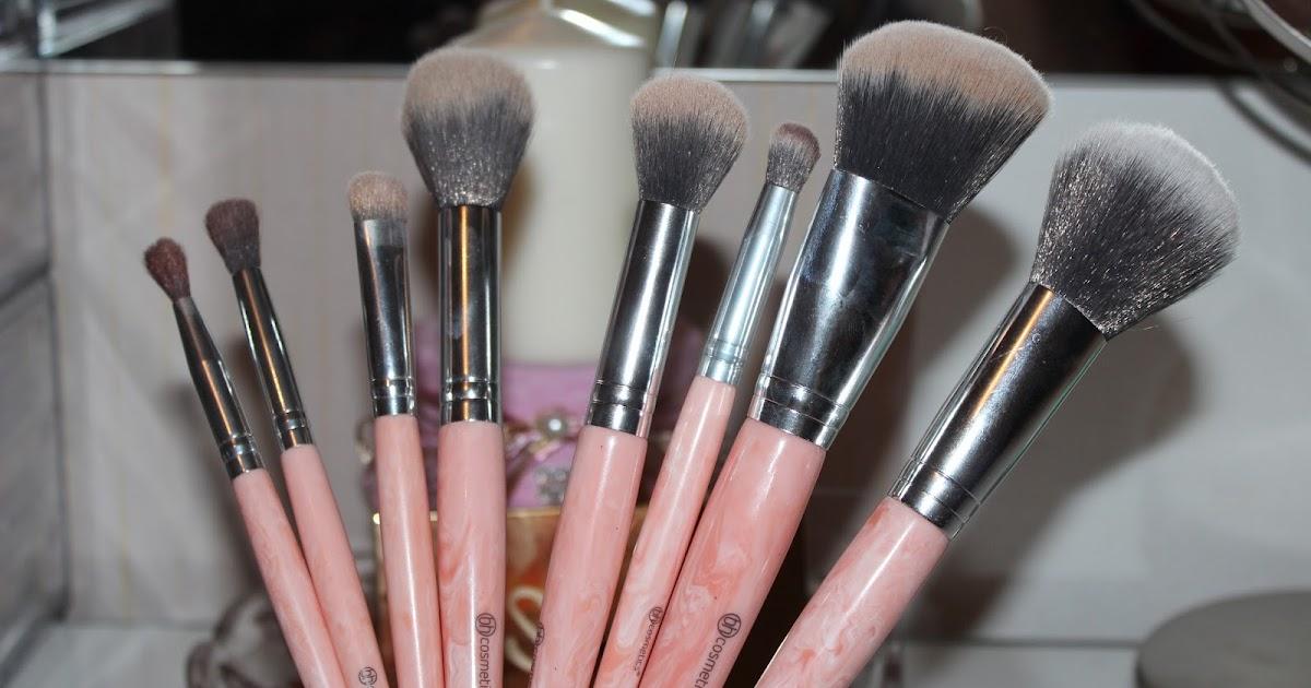 Rose Quartz 9 Teiliges Pinselset Bh Cosmetics