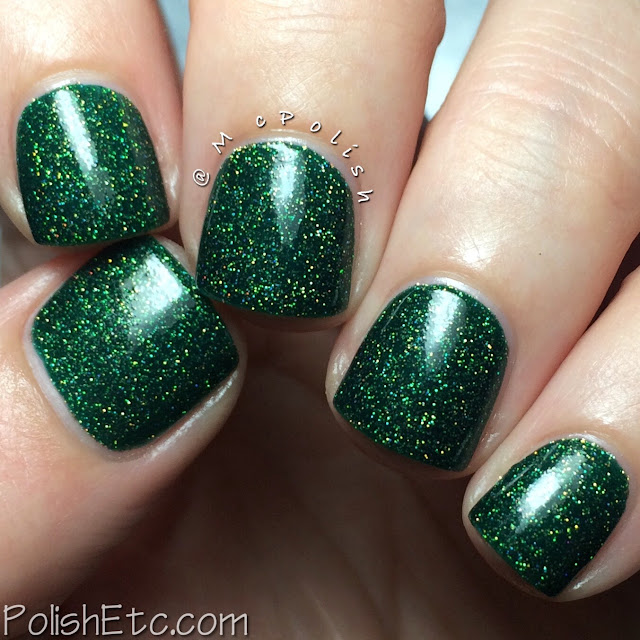 Nine Zero Lacquer - Holiday 2015 Collection - McPolish - Cat in the Christmas Tree
