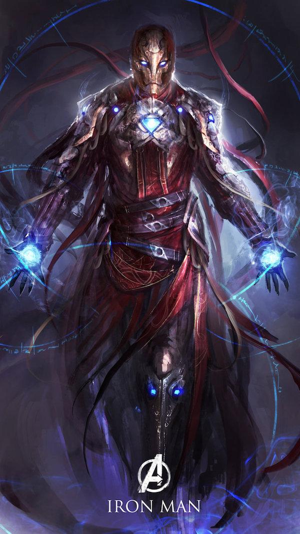 5. Iron Man, The Sorcerer of Snark