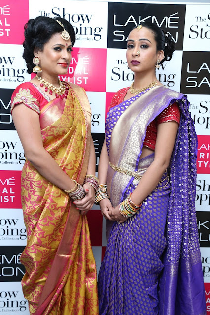Sushma Khan did Lakme Bridal Illuminate Looks at Dilsukhnagar