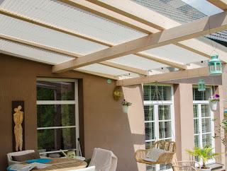 Outdoor Plissee für Balkon oder Terrassen-Überdachungen
