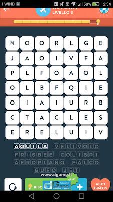 WordBrain 2 soluzioni: Categoria In Aria (7X7) Livello 3