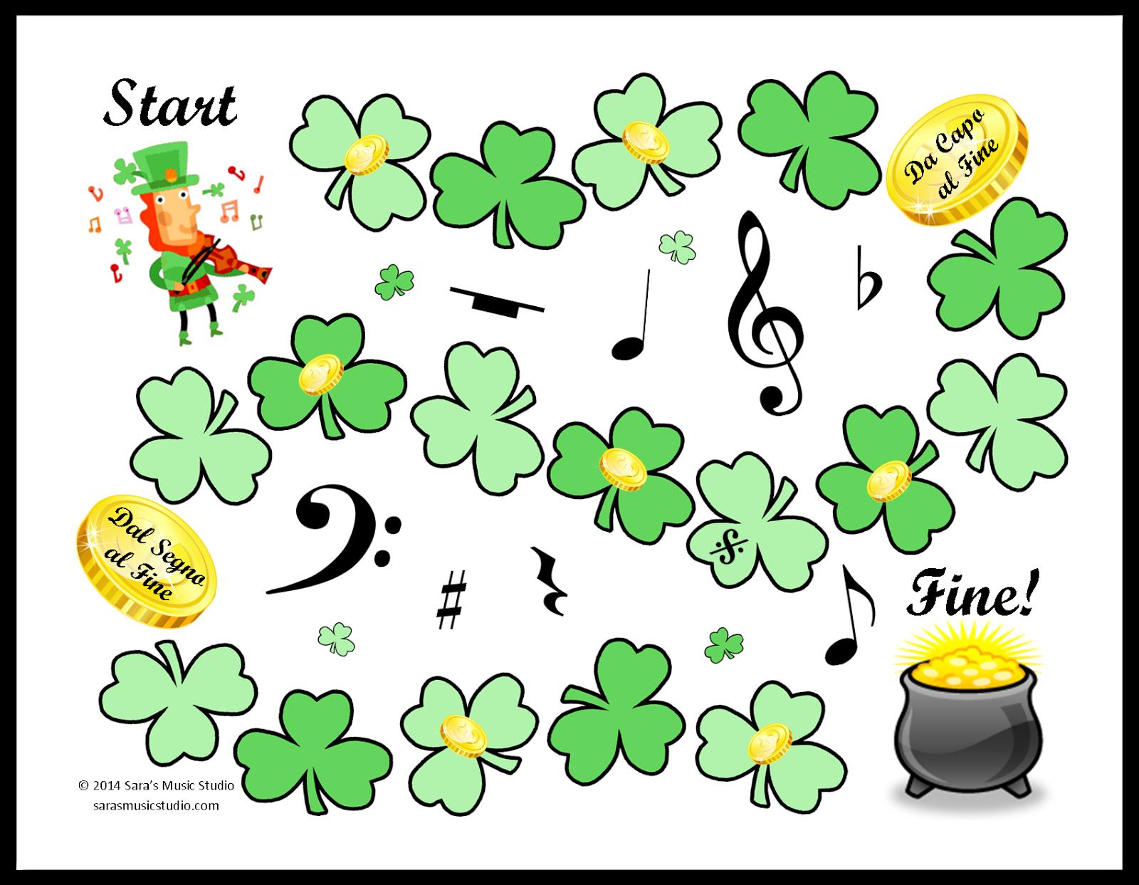 St Patricks Day Games For Kids