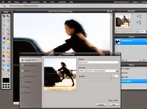 Pixlr - Editor de fotos online