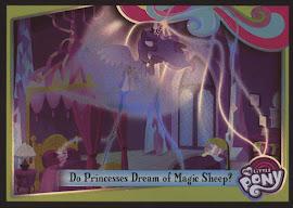 MLP Do Princesses Dream of Magic Sheep? Series 4 Trading Card