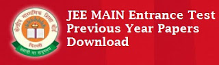 Download JEE Main Previous Question Papers