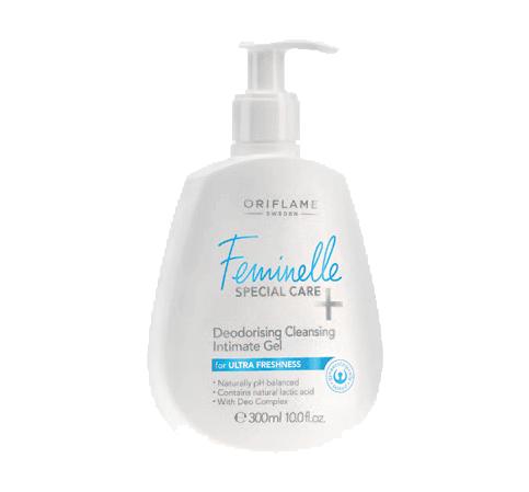 Gel Íntimo de Limpeza e Desodorizante Feminelle Special Care+