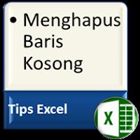 Cara Menghapus Baris Kosong di Excel