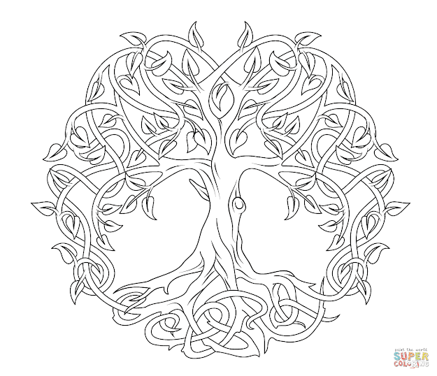 Celtic Art Coloring Pages