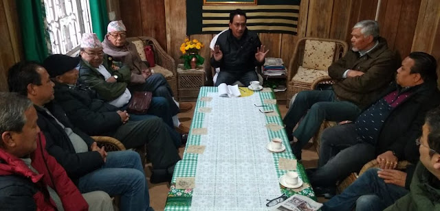 Gorkha National Liberation Front meeting ahead of Lok sabha Election