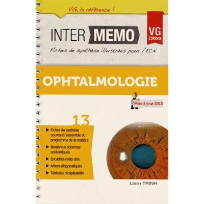 Télécharger iNter Memo Ophtalmologie PDF