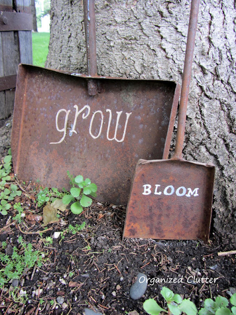 Old Shovel Garden Signs & Art organizedclutter.net