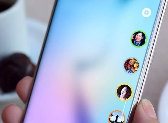 """TouchWIZ, """"o Android da Samsung"""", permite acesso aos atalhos e outros recursos da tela curva"""