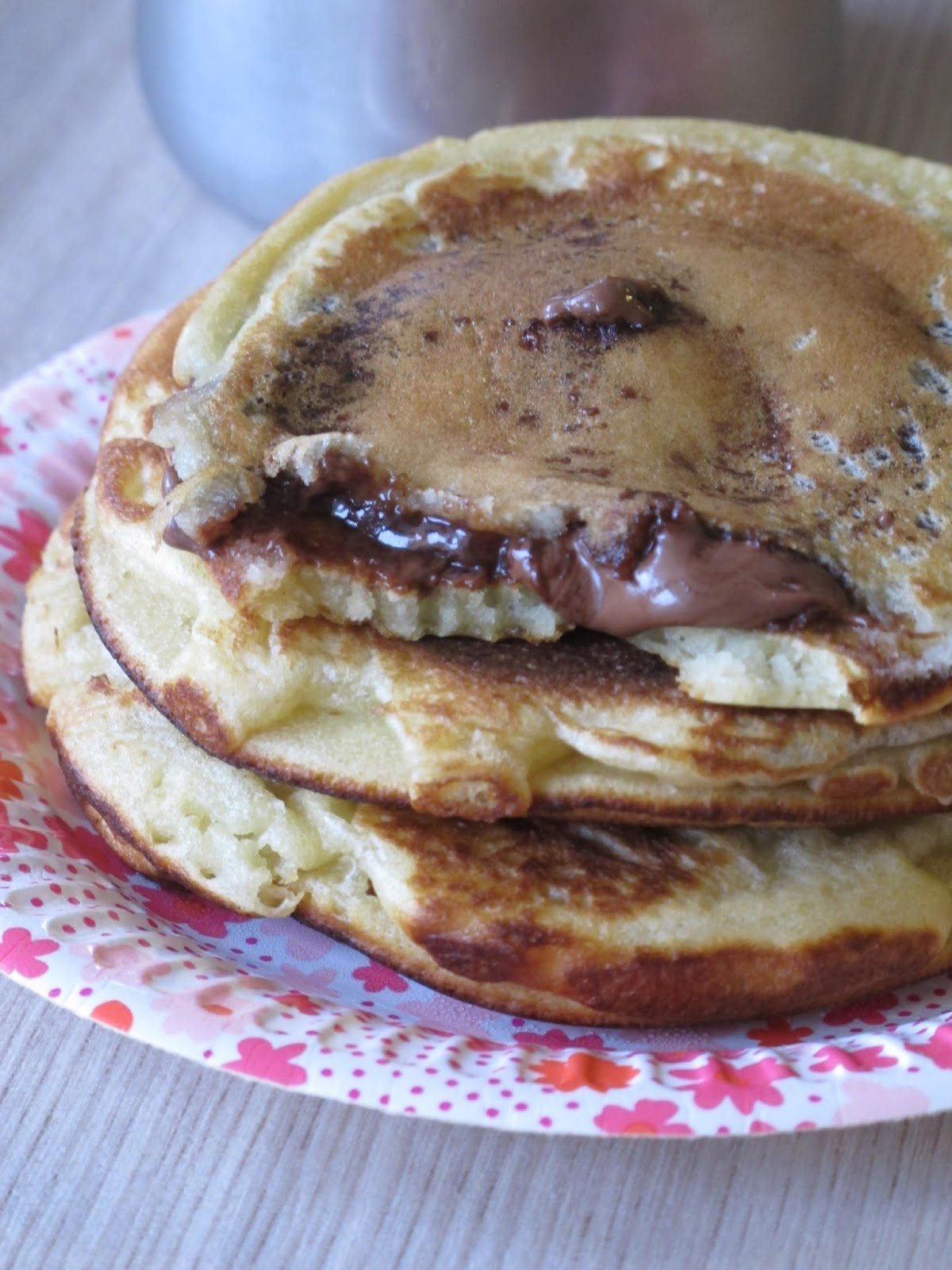 Pancakes Fourres Au Nutella Elo A La Bouche