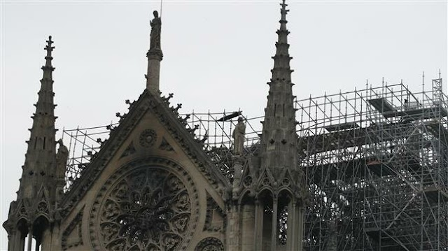 France's iconic Notre-Dame Cathedral fire fully extinguished