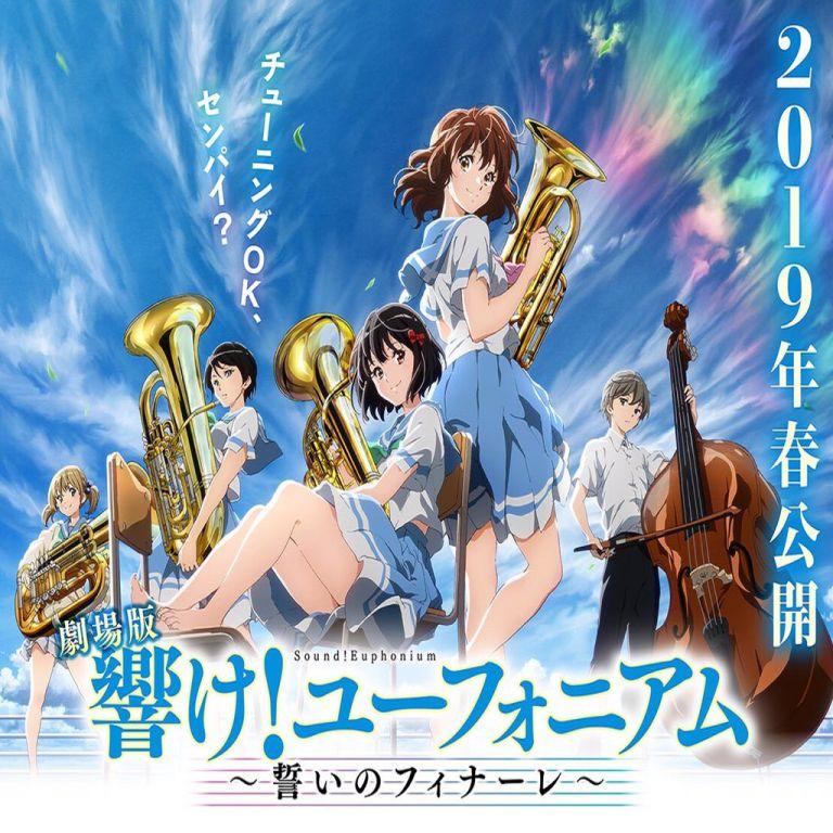 Film Jepang 2019 Sound! Euphonium Movie: The Finale of Oath (Gekijoban Hibike! Euphonium: Chikai no Finale)