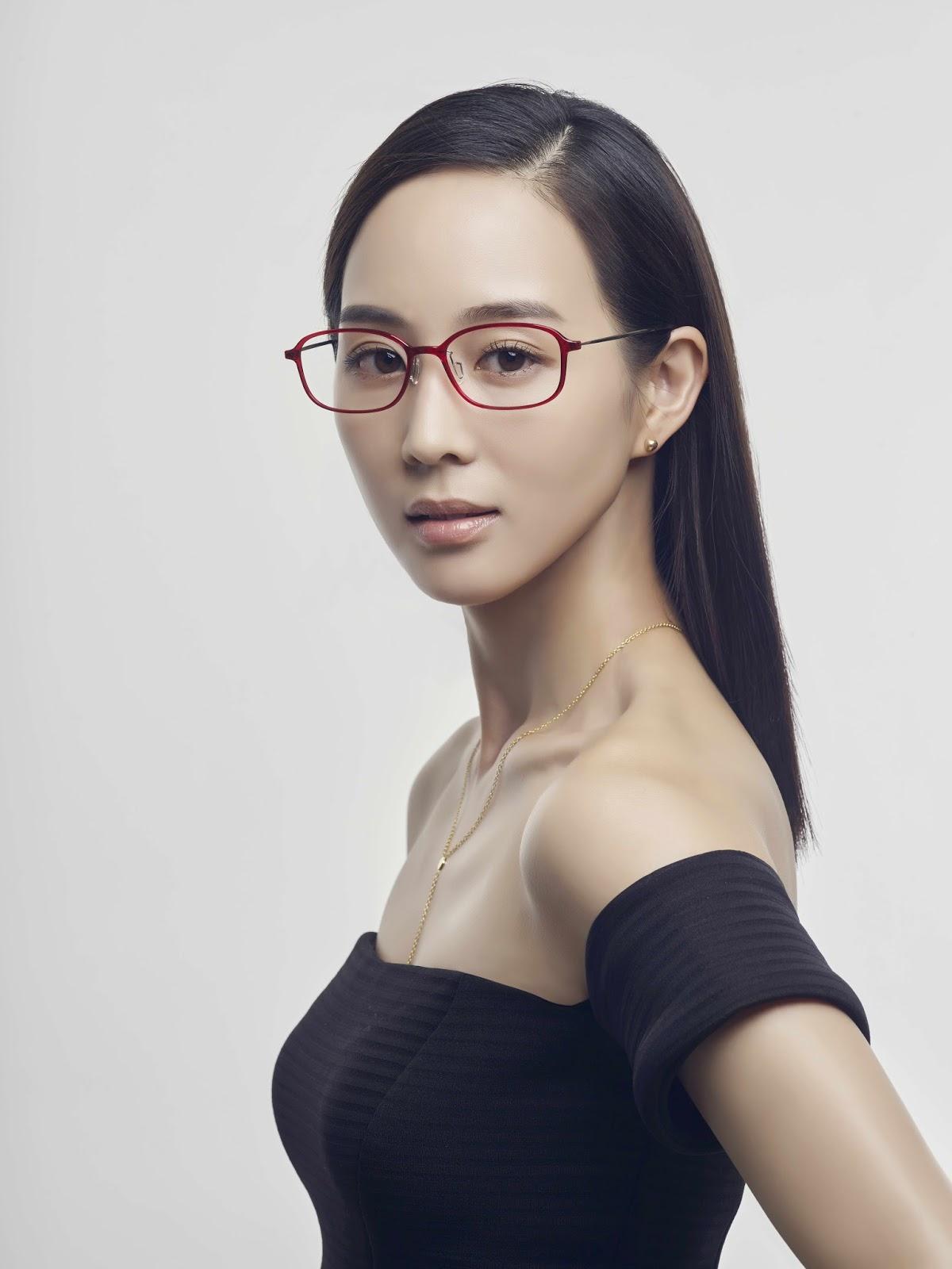 9-19首度代言眼鏡的張鈞甯今年生日帶給粉絲們不一樣的全新視覺感受