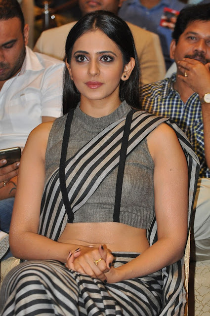 Rakul Preet Singh at Abhinetri Movie Audio Launch HD pics