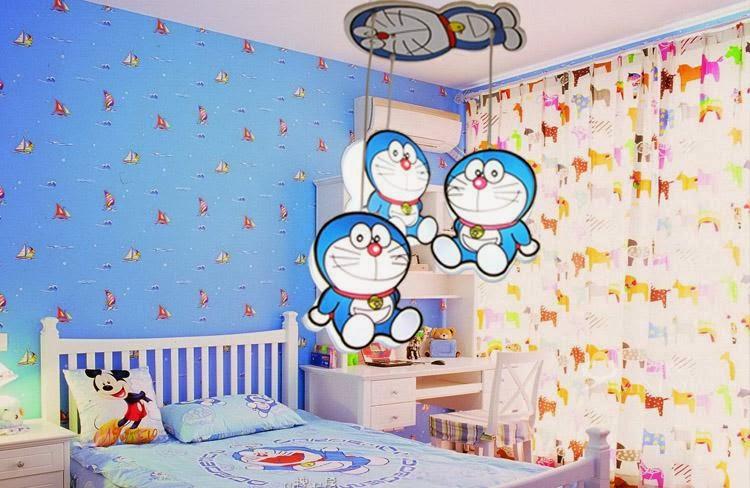 Desain Kamar Tidur Tema Doraemon Minimalis | Kumpulan