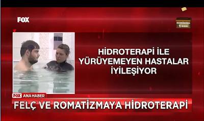 hastalar su tedavisi Hidroterapi ile ayağa kalkıyor