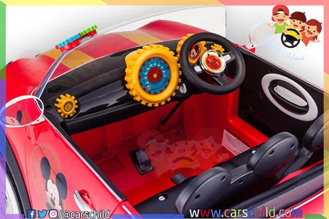 سيارة ميكي ماوس خاصة بالصغار