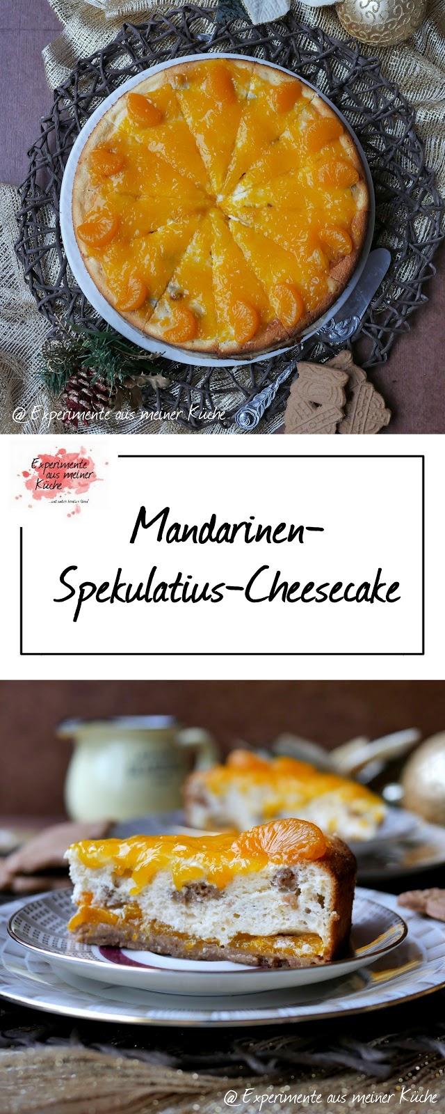 Experimente Aus Meiner Kuche Mandarinen Spekulatius Cheesecake