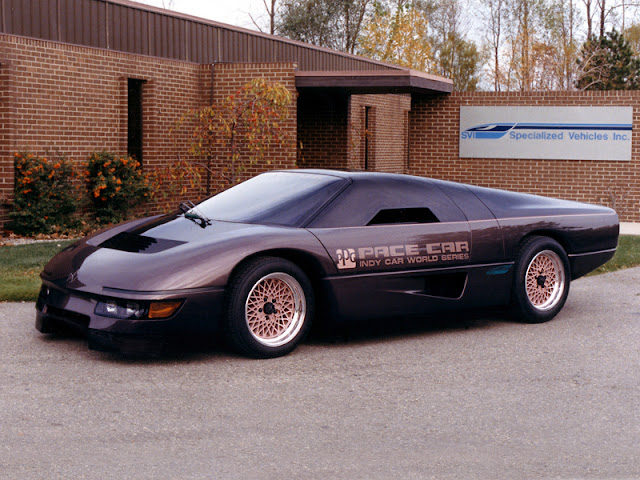 Dodge M4S Turbo Interceptor Indy Concept