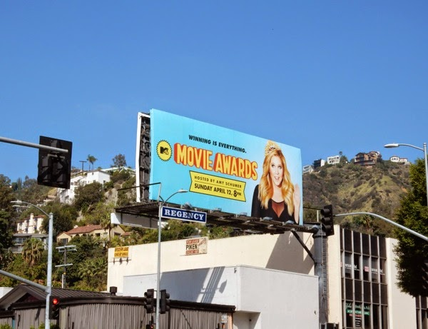 MTV Movie Awards 2015 billboard