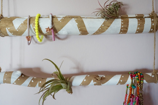 DIY : Porte-bijoux végétal