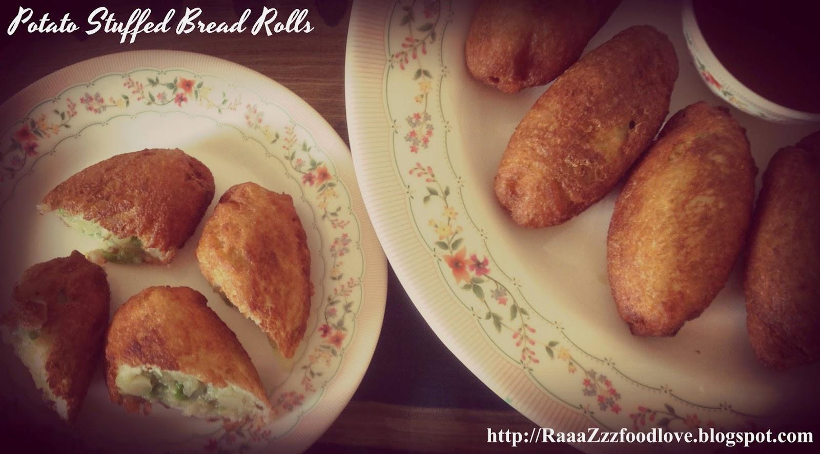 aloo bread rolls