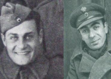 Ο Διονύσης Παπαγιαννόπουλος και ο Λάμπρος Κωνσταντάρας στο μέτωπο του '40! (Φωτό)