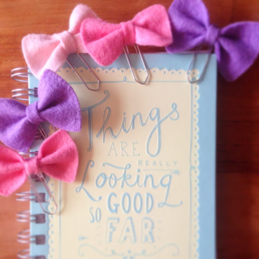 Lily Razz: Felt Bow Tutorial