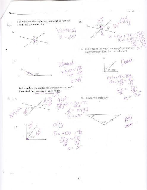 Ms. Jean's Classroom Blog: Chapter 7 Practice Test Answers
