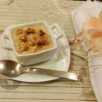 canjica doce mungunza sobremesa lanche festa junina junino coco canela amendoim como servir dica gourmet elegante recipiente potinho ceramica