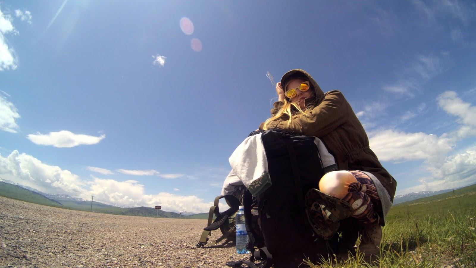 przejście graniczne Karkara Kazachstan Kirgistan
