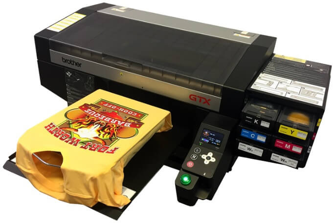 Brother GTX Machine Unveiled; Direct to Garment Printer