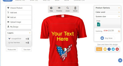 print your own t shirt uk