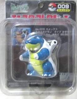 Blastoise  figure Tomy Monster Collection black package series