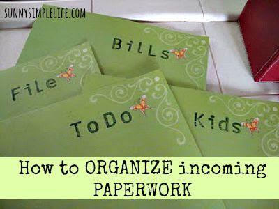 organize, DIY file system