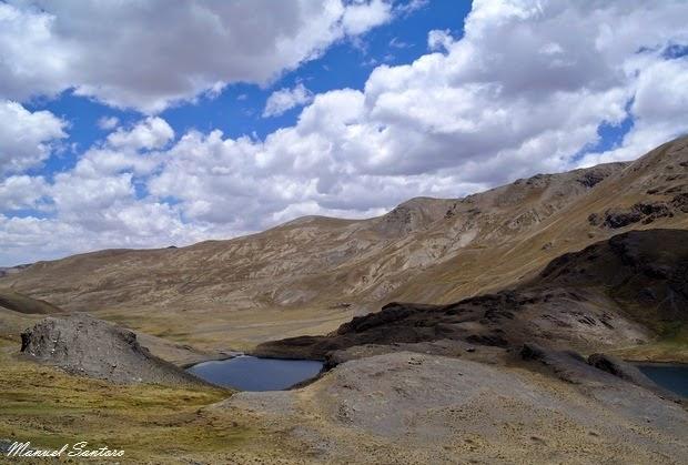 Salendo verso la Laguna Chiar Khota
