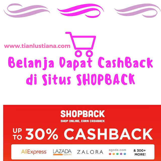 Belanja Dapat CashBack di Situs Cashback  SHOPBACK